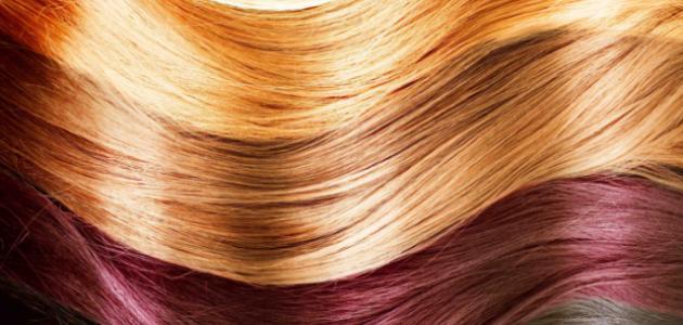 طريقة تفتيح الشعر المصبوغ