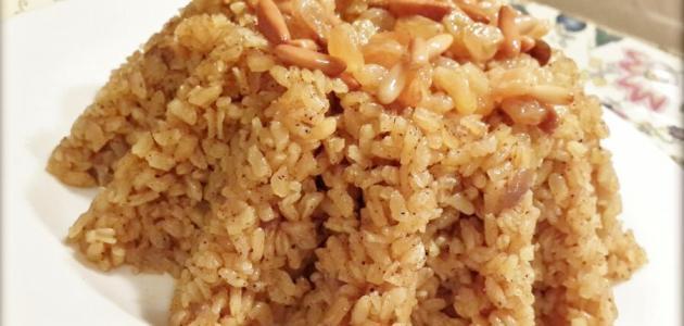 طريقة عمل أرز بالخلطة