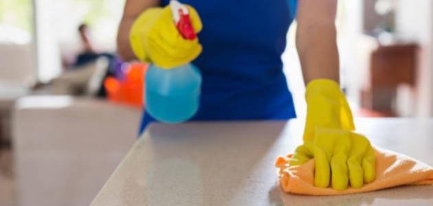 طريقة تنظيف المنزل بأسرع وقت