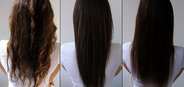 طريقة عمل كريم فرد الشعر