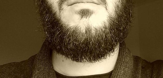 طريقة تكثيف شعر الذقن والشنب - موضوع