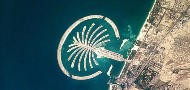جزر النخيل في دبي