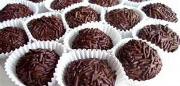 طريقة إعداد كرات الشوكولاتة