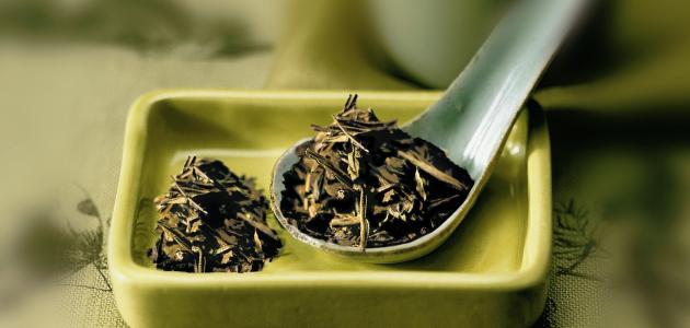 طريقة عمل شاي أخضر