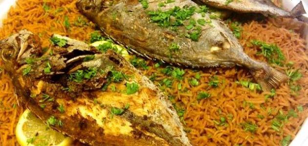 طريقة طبخ السمك مع الأرز