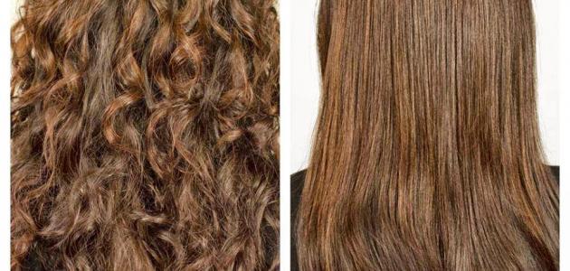 طريقة فرد الشعر بالكولاجين