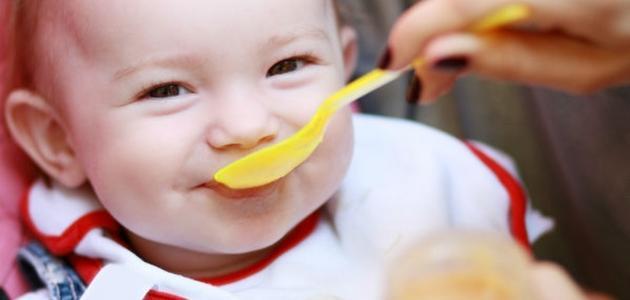 نظام غذائي لطفل 5 شهور