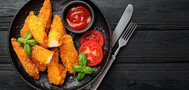 طريقة عمل كريم جاب الدجاج