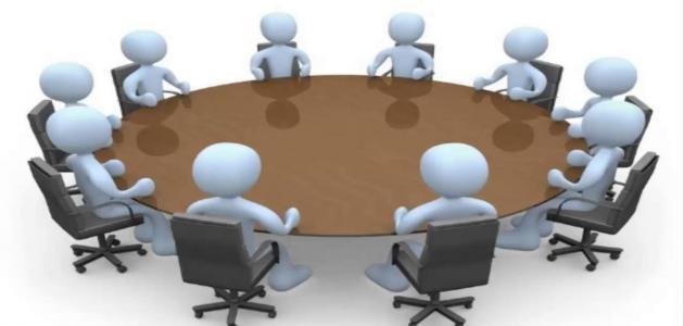 مفهوم تقسيم العمل