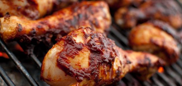 طريقة شوي الدجاج على الشواية الكهربائية