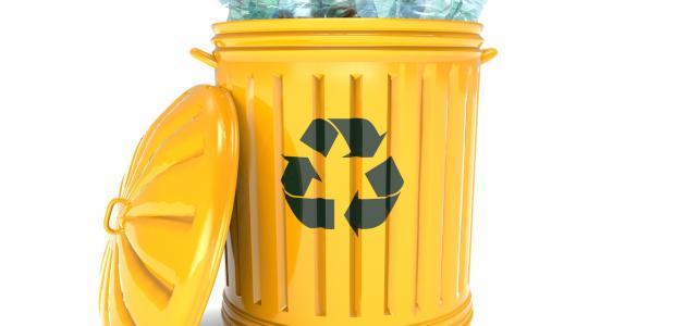 تدوير البلاستيك