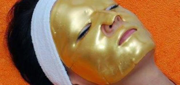 طريقة استخدام قناع الذهب بالكولاجين
