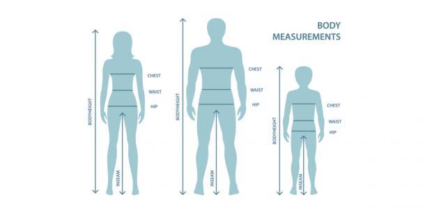 ما هو طول الانسان الطبيعي