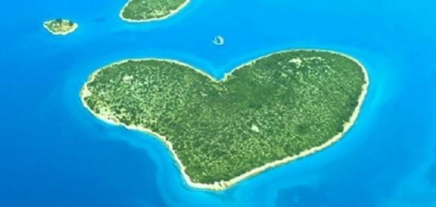 جزيرة الحب في كرواتيا