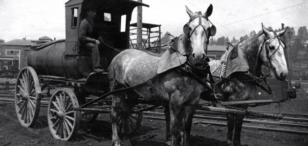 تطور وسائل النقل عبر التاريخ