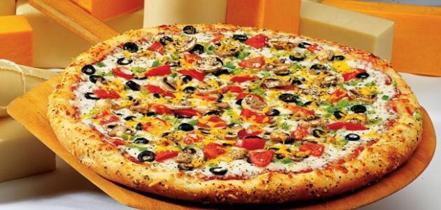 طرق عمل البيتزا السريعة