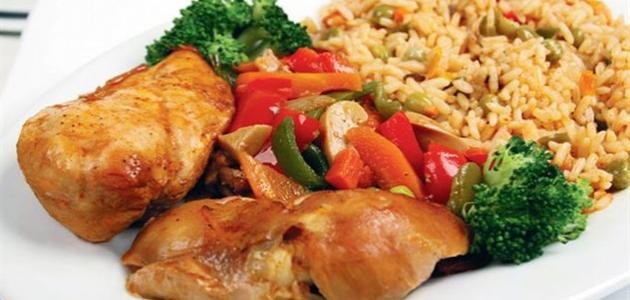 طبق دجاج للعشاء