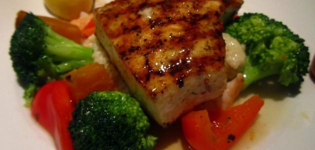 طرق طهي سمك السلمون