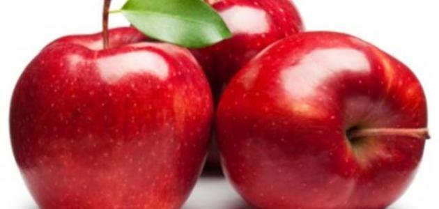 فوائد التفاح على الريق للبشرة