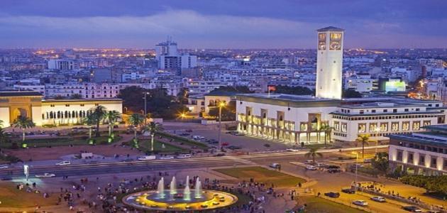 مدينة كازابلانكا المغربية