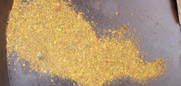 ما هو تبر الذهب