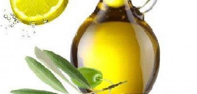فوائد الليمون مع زيت الزيتون
