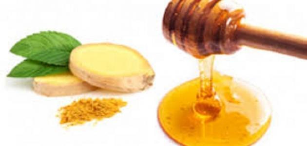 فوائد العسل والزنجبيل على السرة