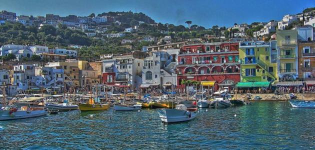جزيرة كابري الإيطالية