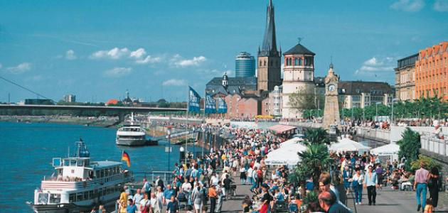 مدينة دوسلدورف في ألمانيا