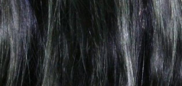 طريقة تفتيح لون الشعر الأسود