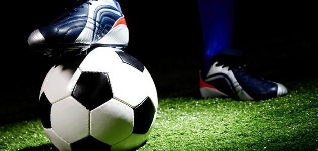 موضوع عن هواية كرة القدم