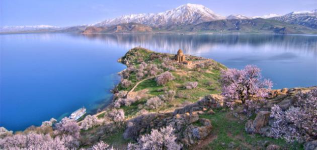 مدينة وان في تركيا
