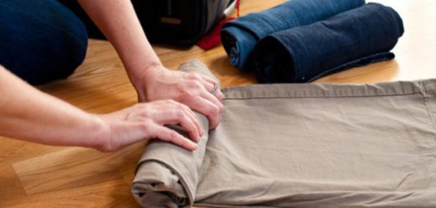 طرق تخزين الملابس