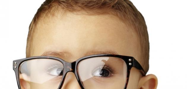 ضعف البصر عند الأطفال