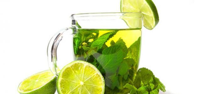 فوائد الشاي الأخضر والليمون للتخسيس