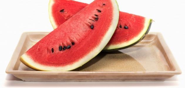 فوائد البطيخ في الرجيم
