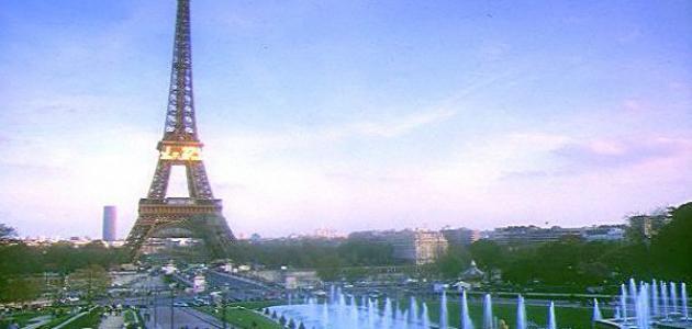 مدينة باريس في فرنسا