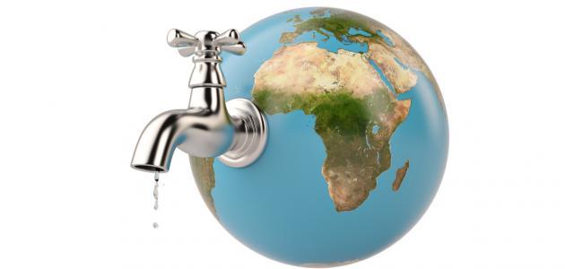 بحث عن مشكلة نقص المياه وكيفية ترشيد استهلاك المياه