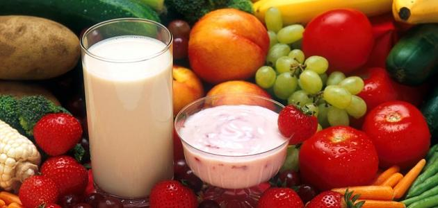 عناصر الغذاء الصحي