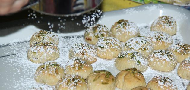 عمل كعك العيد الفلسطيني