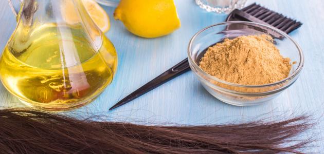 وصفة لعلاج تقصف الشعر وتنعيمه