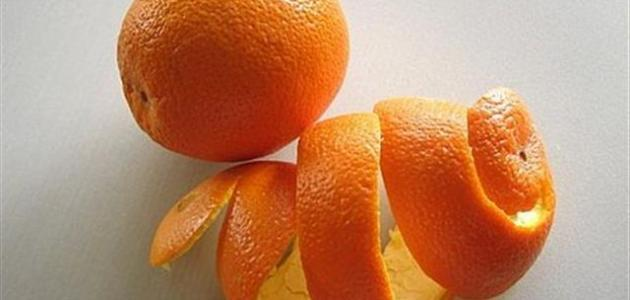 فوائد قشر البرتقال المجفف للبشرة