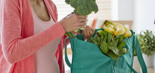 ما هو غذاء المرأة الحامل