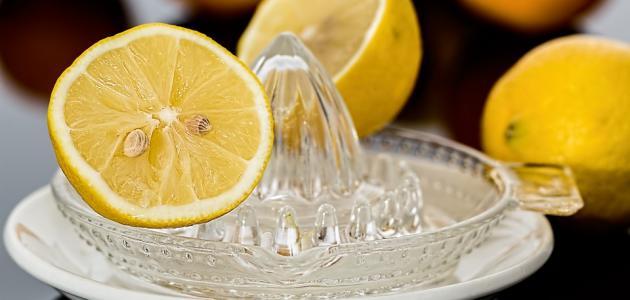 فوائد عصير الليمون للوجه
