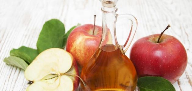 فوائد شرب خل التفاح مع الماء على الريق