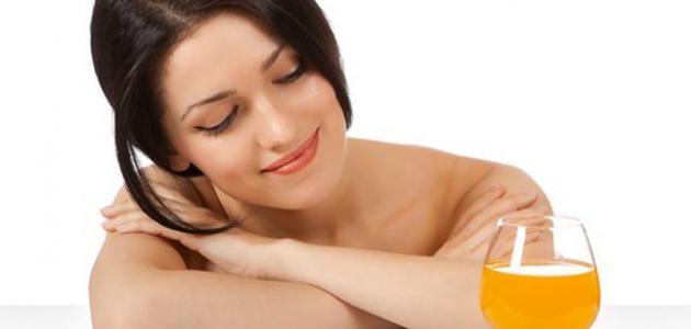فوائد عصير البرتقال للشعر
