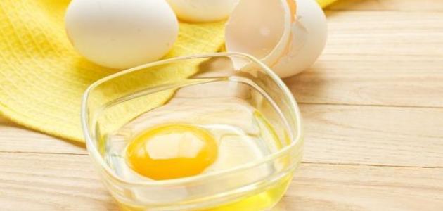 فوائد البيض والخل للشعر