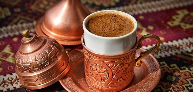 كيفية صنع القهوة التركية