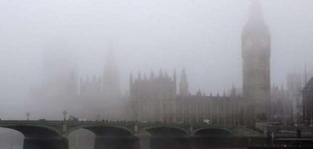 لماذا سميت لندن بمدينة الضباب