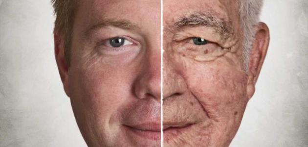 علامات تقدم السن